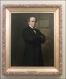 Portrait of Salmon P. Chase.