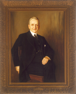 Portrait of Carter Glass.