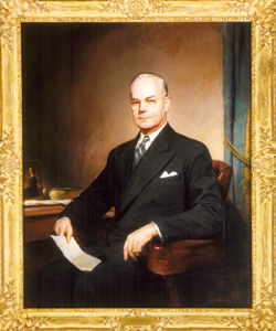 Portrait of John W. Snyder.