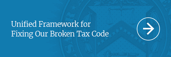 Unified Framework for Fixing Our Broken Tax Code
