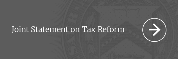 Joint Statement on Tax Reform