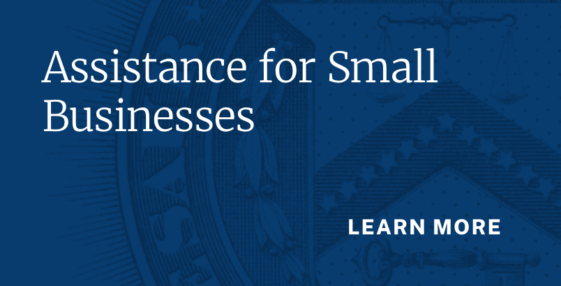 Assistance for Small Businesses